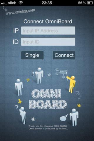 OmniBoard - náhled