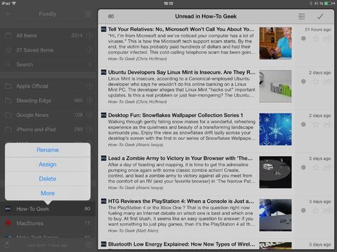 Mr. Reader screenshot 2