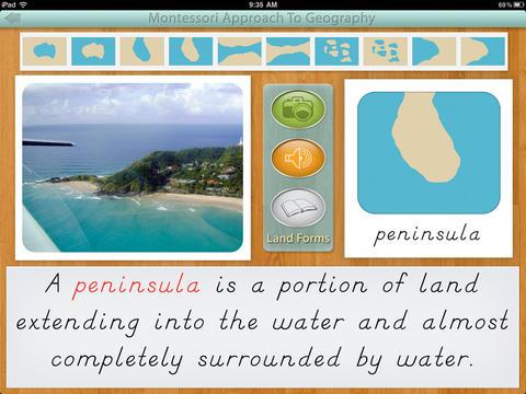 Montessori Land & Water Forms screenshot 7