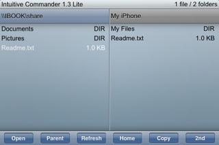 Intuitive Commander Lite screenshot 1