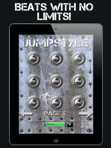 iJumpstyle - Jumpstyle Sound Hardstyle Music Drum screenshot 6