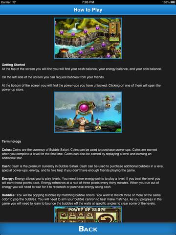 Cheats for Bubble Safari : Tips, Video, Guide, News screenshot #5