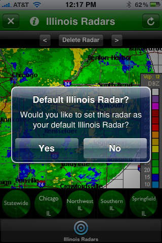 Illinois Radars screenshot 3