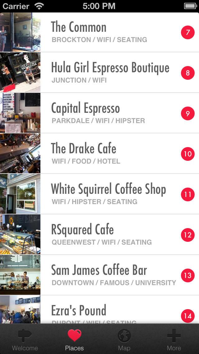 Toronto Coffee Shops screenshot 3