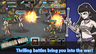 Heroes War™ screenshot 2