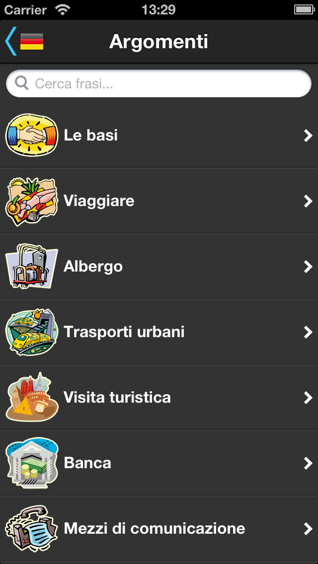 Interprete da viaggio screenshot 1