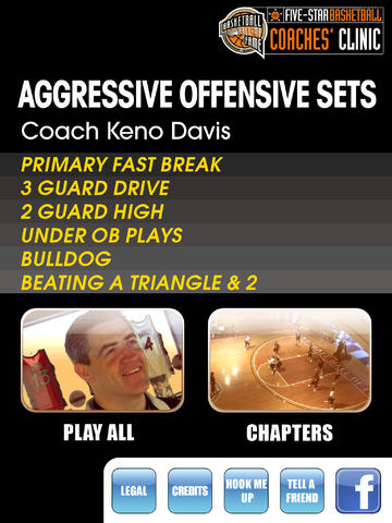 Aggressive Offensive Sets: A Playbook For A High Scoring Offense - With Coach Keno Davis - Full Court Basketball Training Instruction - XL screenshot 1