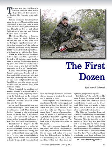 Traditional Bowhunter Magazine screenshot 9