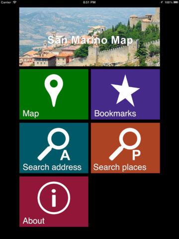 Offline San Marino Map - World Offline Maps screenshot 7
