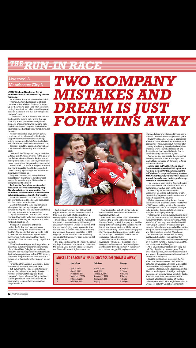 The KOP Magazine screenshot 2