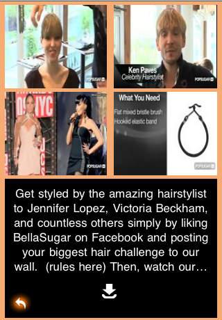 Fashion Video - Hair Series One screenshot 1