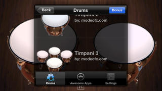 Timpani Free screenshot 2