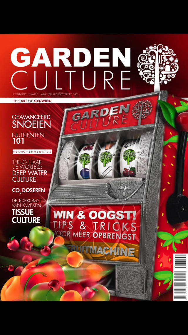 Garden Culture Magazine NL screenshot 1
