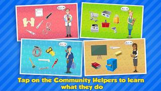 Community Helpers Play & Learn - Free Educational Game For Kids screenshot 2