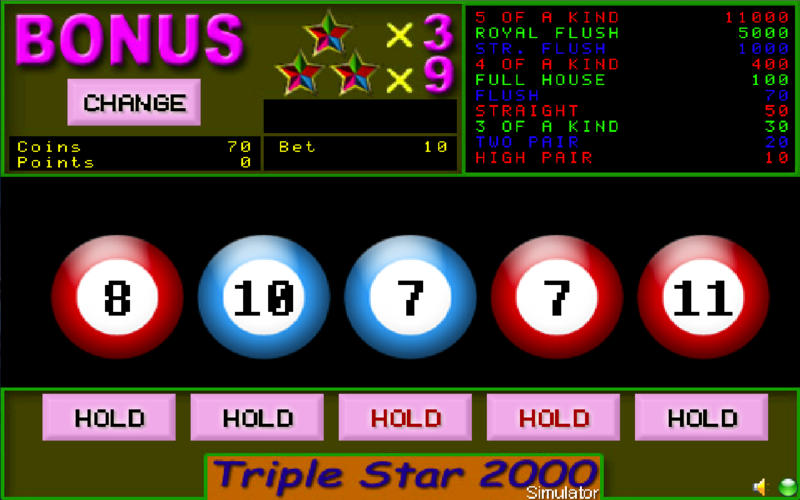 90s Video Poker screenshot 3