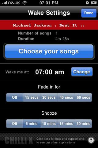 Playlist Alarm Clock screenshot 5