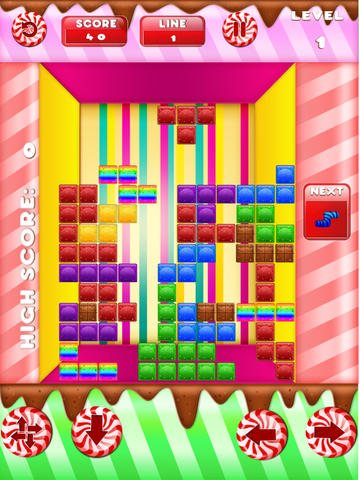 Candy Rows Madness Lite screenshot 9
