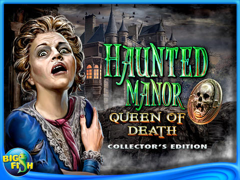 Haunted Manor: Queen of Death Collector's Edition HD (Full) screenshot 1