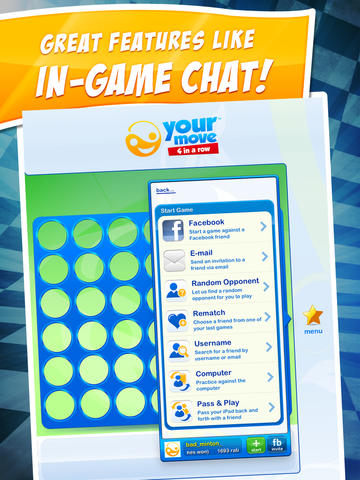 Your Move 4 in a Row ~ connect four in a row online with friends & family free screenshot 7