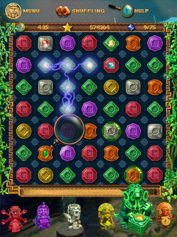 The Treasures of Montezuma HD Lite screenshot 5