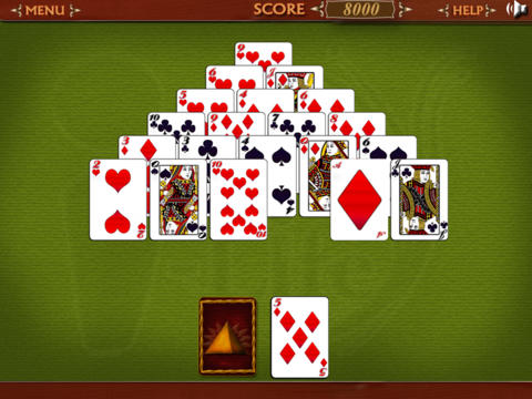 Egyptian Solitaire for iPad screenshot 3