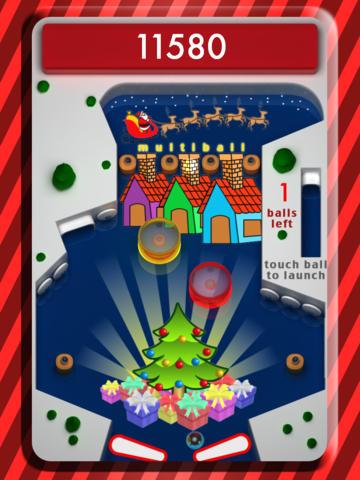 Pinball Xmas HD screenshot 4