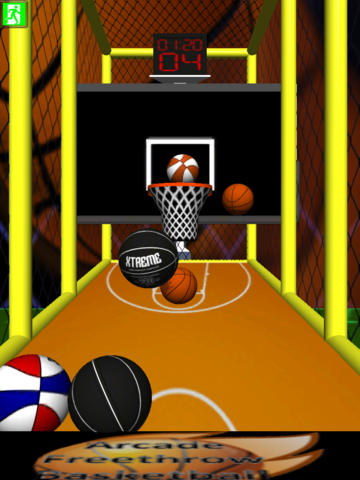 Arcade Free Throw Basketball for iPad -Free- screenshot 3
