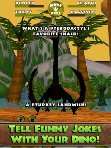 Virtual Pet Dinosaur: Pterodactyl screenshot 8