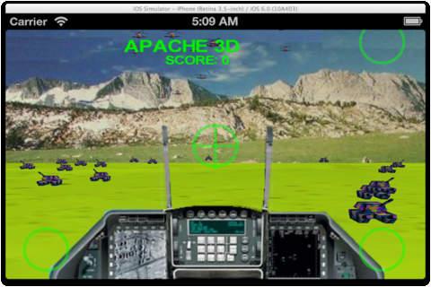 Apache3DFree03 - náhled