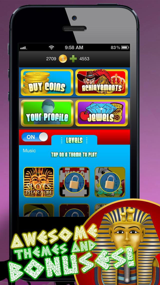 Slots Pharaoh – Riches of the God's screenshot 3