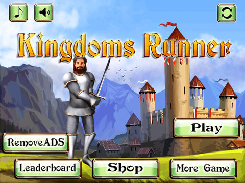 Kingdoms Runner - Race against Dragons screenshot 3