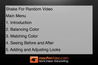 Course For Final Cut Pro X - Color Correction screenshot #3