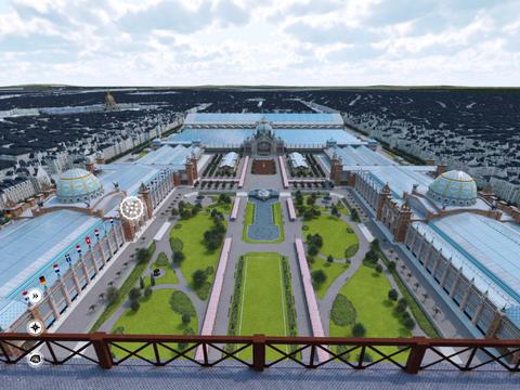 Paris 3D Saga. - náhled