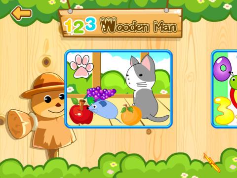 Landee Kids: 123 Wooden Man screenshot 6