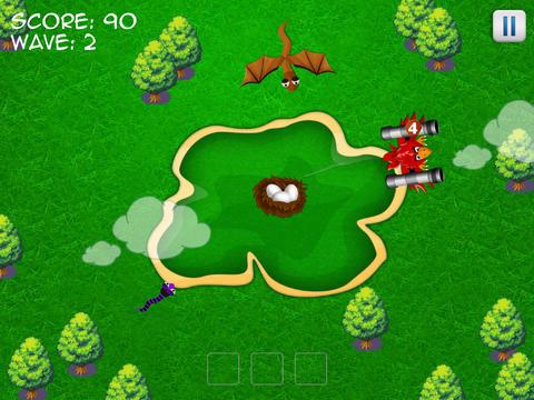 Gun Birds Defence - Snakes Invade Free screenshot 10