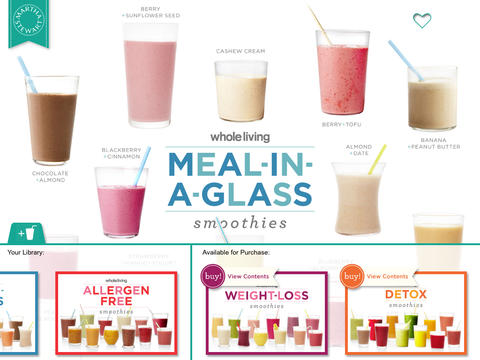 Smoothies from Whole Living - náhled