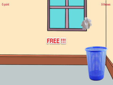 Throw Paper In Bin - Play Paper Ball Toss screenshot 8