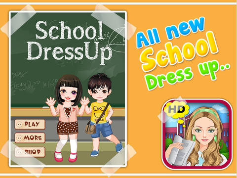 School Girl Dress Up screenshot 6