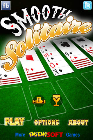 Smooth Solitaire screenshot 1