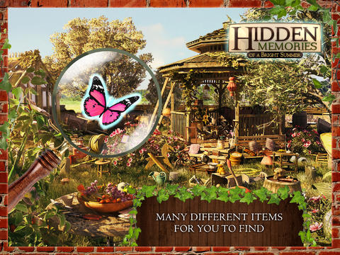 Hidden Memories of a Bright Summer (Full) - A Hidden Object Adventure screenshot 8