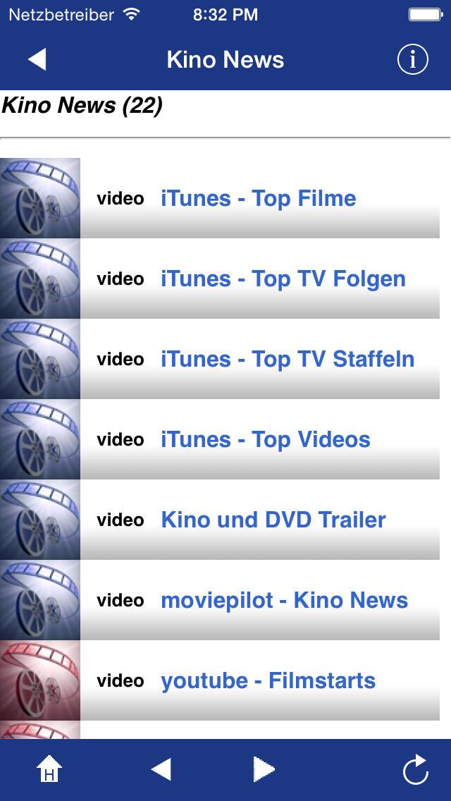 Kino News & Trailer screenshot 1