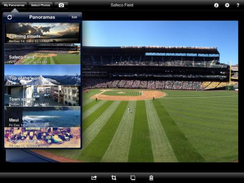 AutoStitch Panorama for iPad screenshot 2