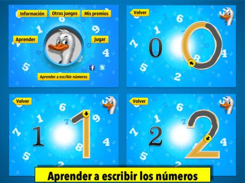 juegos preescolares para aprender los números screenshot 9