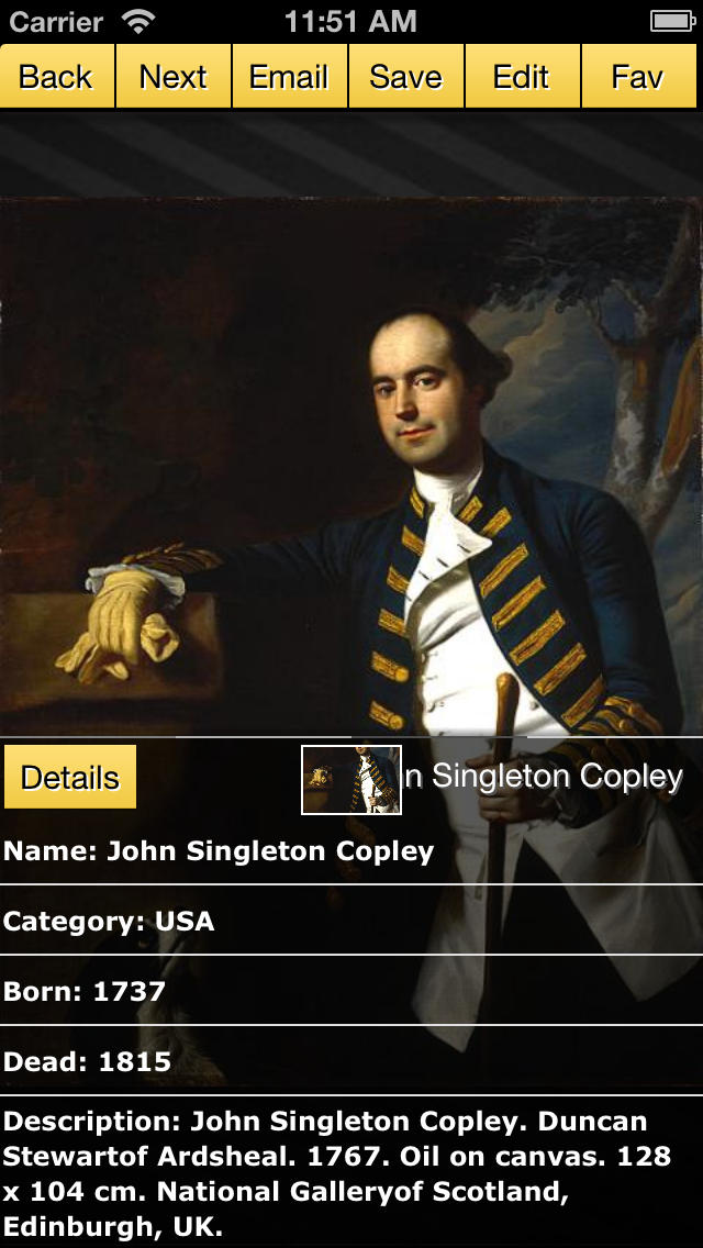 John Singleton Copley screenshot 3