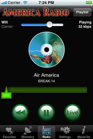 America Radio screenshot 2