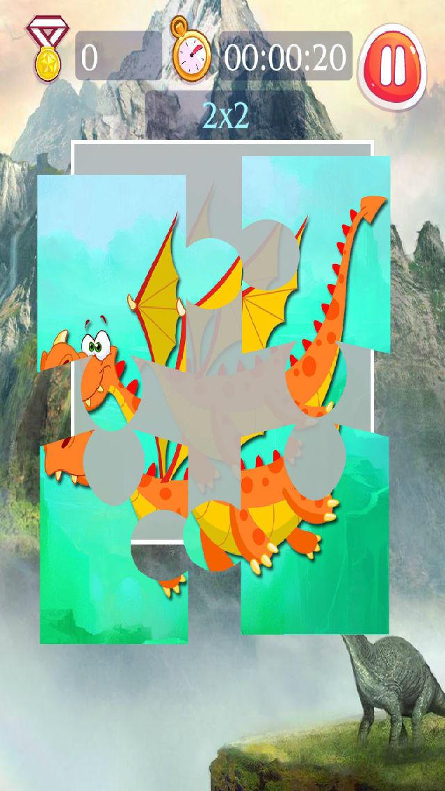Dinosaur Puzzle - AoAo Children Puzzles screenshot 2