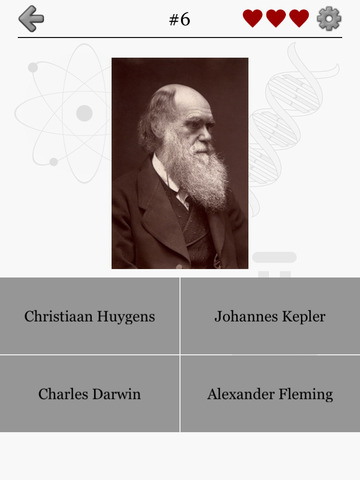Famous Scientists - From Aristotle to Albert Einstein and Erwin Schrödinger - Guess the chemist, physicist and astronomer screenshot 10