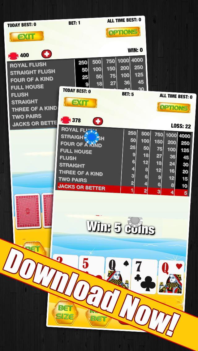 Sun, Sand and Fun Poker screenshot 5