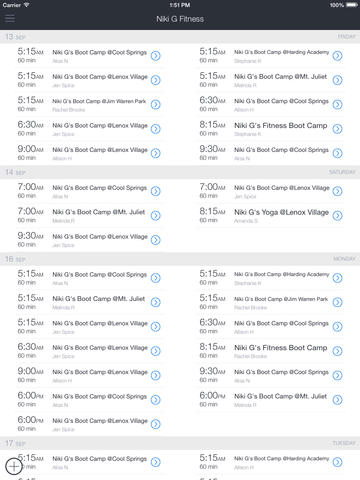 Niki Gs Fitness screenshot 2