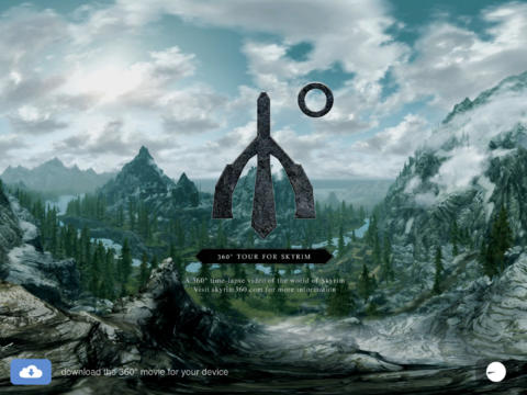360° Tour for Skyrim - náhled